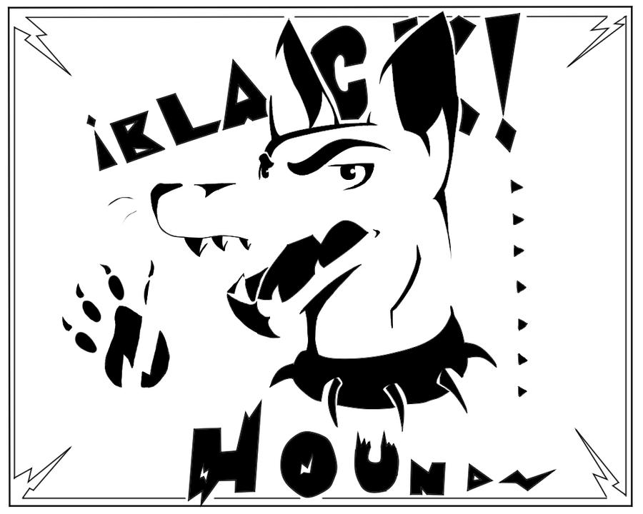 Black Hound by TheMashedCat