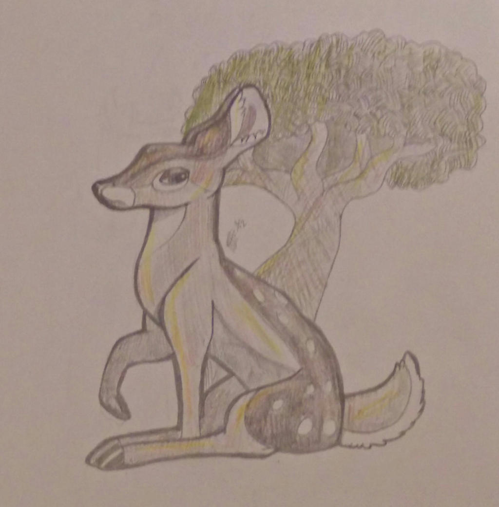 Doe, a deer... by TheMashedCat