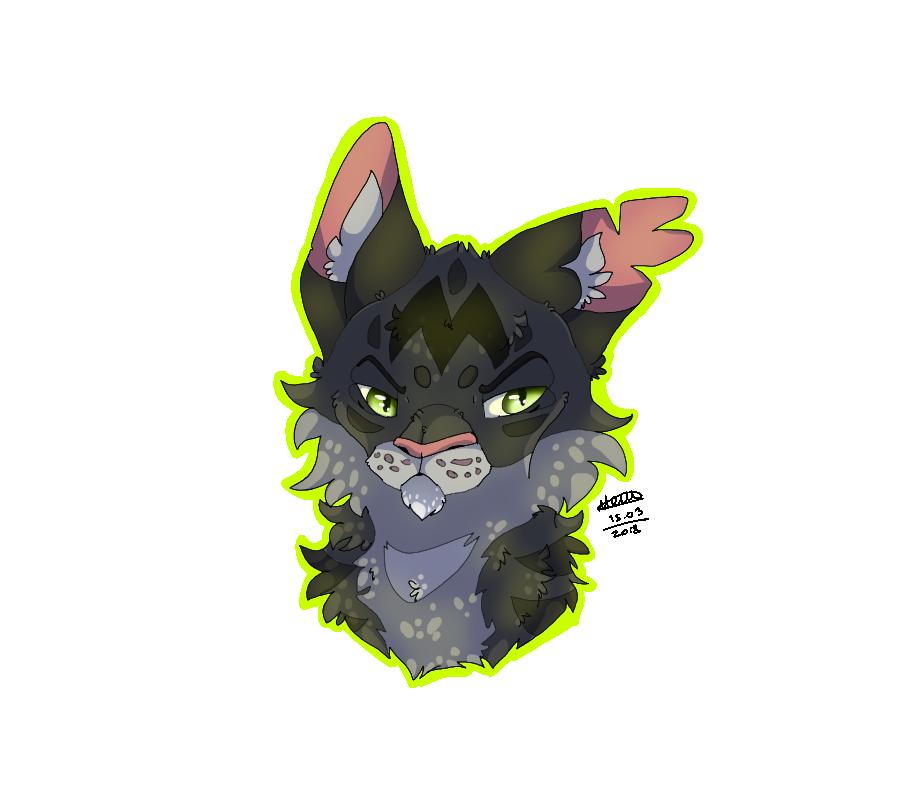 Warrior Cats - Darkstripe by TheMashedCat