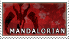 Star Wars: Mandalorian Stamp by RuluuPostage