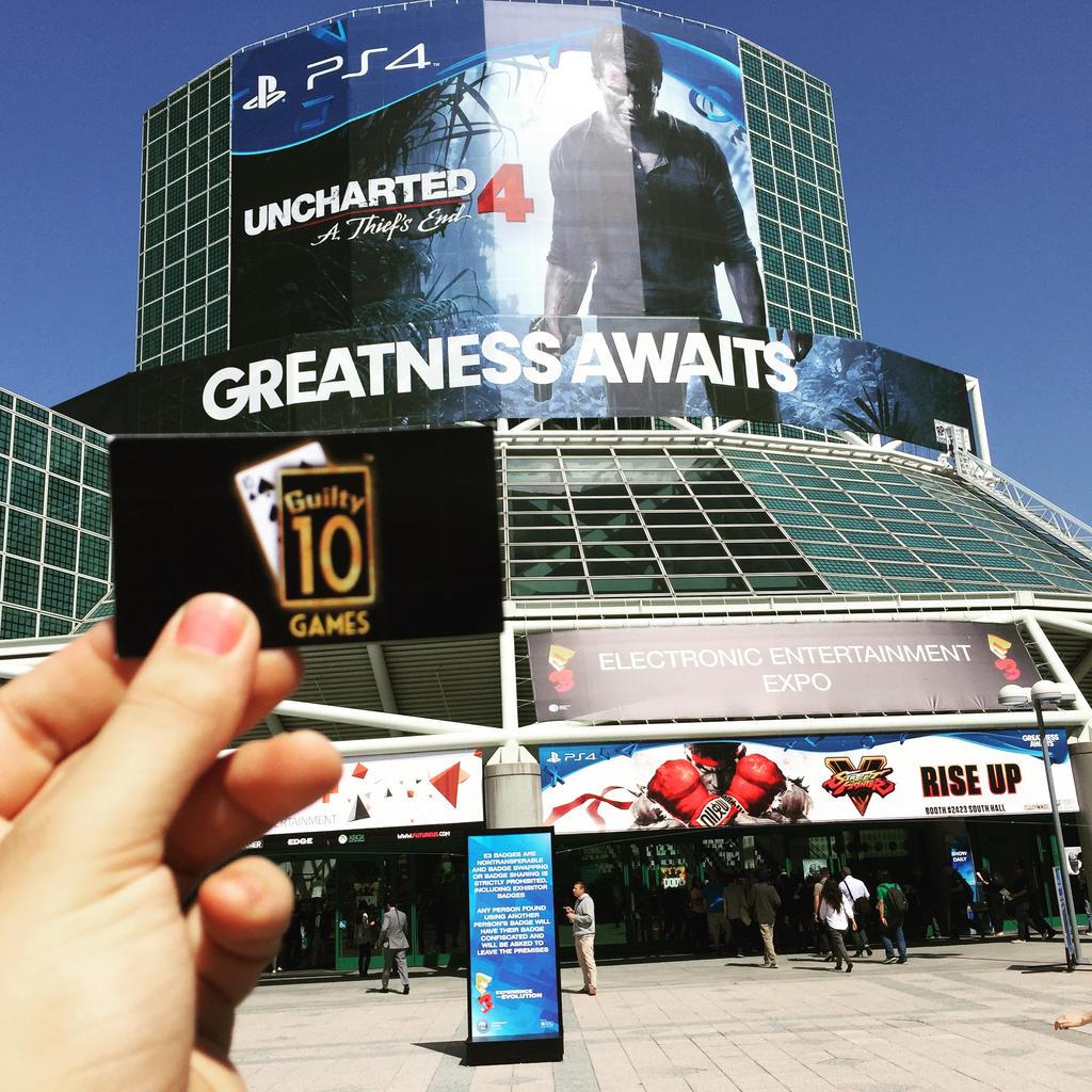 Guilty 10 Games at E3