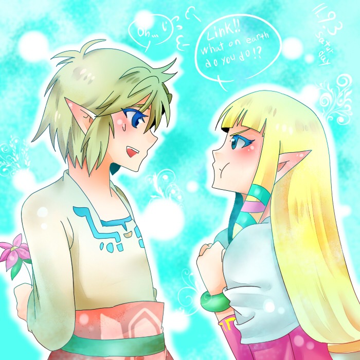 zelink skyward sword by haru888 on DeviantArt Zelink Skyward Sword