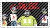 Gorillaz stamp by grimire