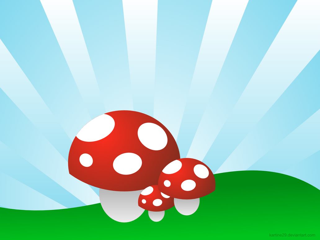 shrooms wallpaper 1600x1200 by kartine29