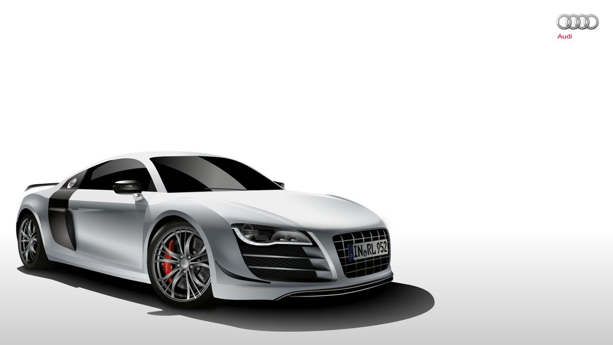Audi R Gtr Full HD By Kartine On DeviantArt - Audi car vector