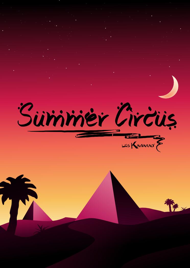 Advertising Poster - Summer Circus (beta) by kartine29