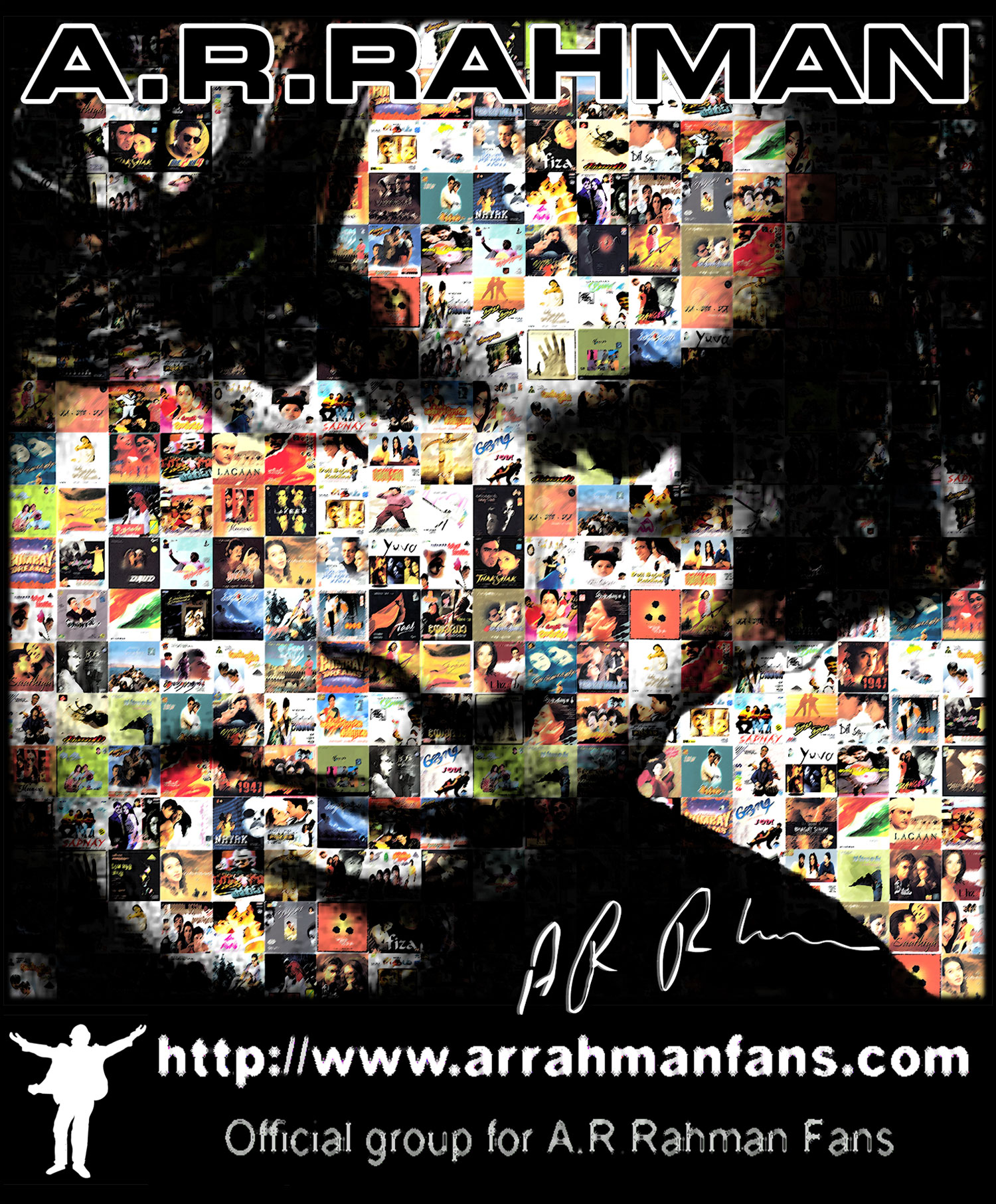 The A.R.Rahman Fans T Shirt by amithchandhran