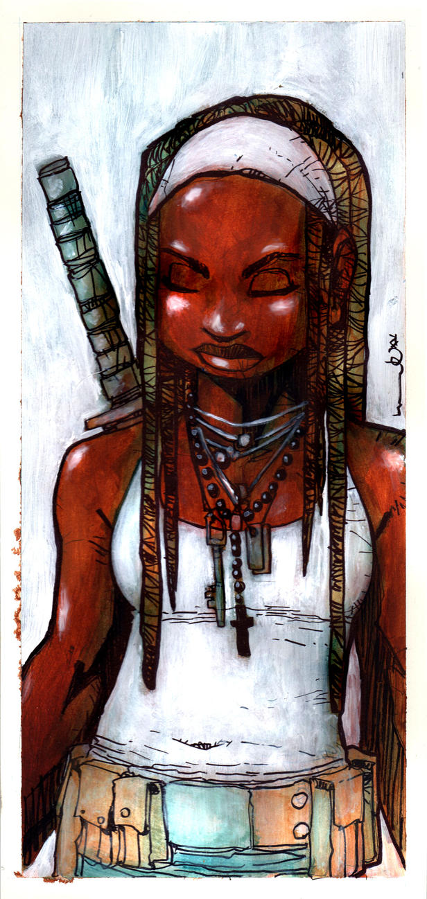 Michonne by lervold