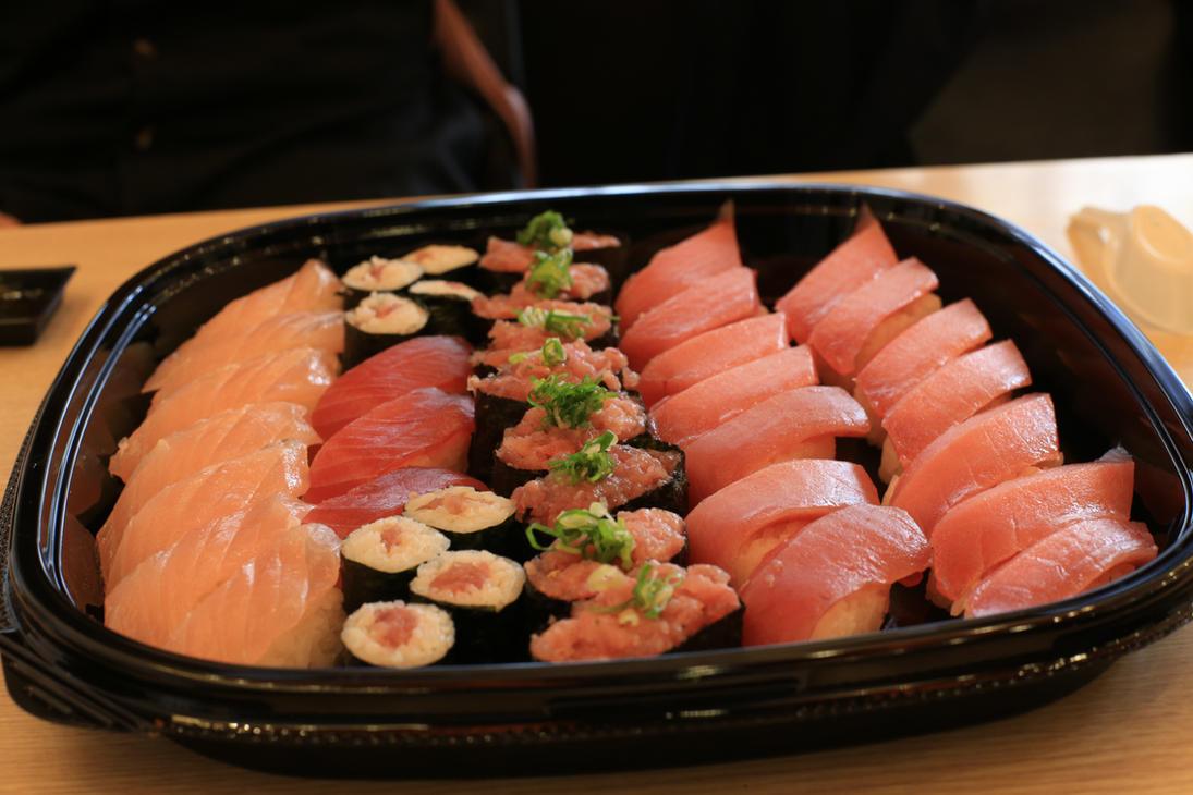 food Japanese cuisine: sashimi sushi by wuxjn