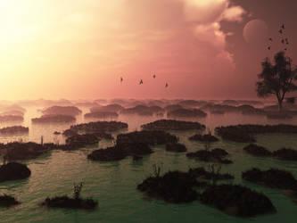 On wetlands by megavlastelin