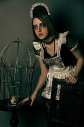 Blind Maid 1 by LabelYad
