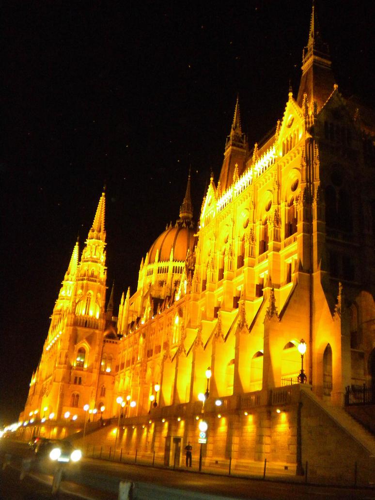 Parliament ~ Budapest by Deyutzica