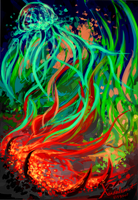 Eruption Of Joy by Xanderleonart