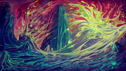 Tower of Pain by Xanderleonart
