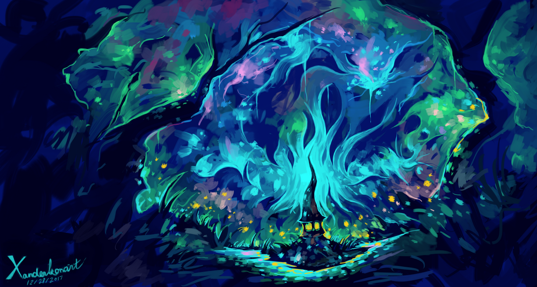 Behind The Light by Xanderleonart