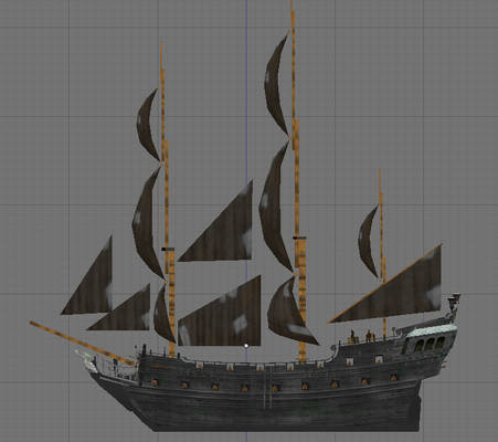 the Black Pearl sail plan