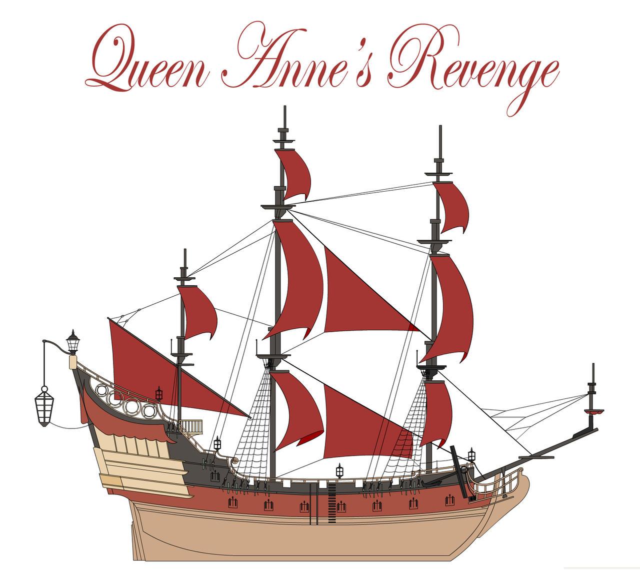 the Queen Anne's Revenge by bonjourmonami