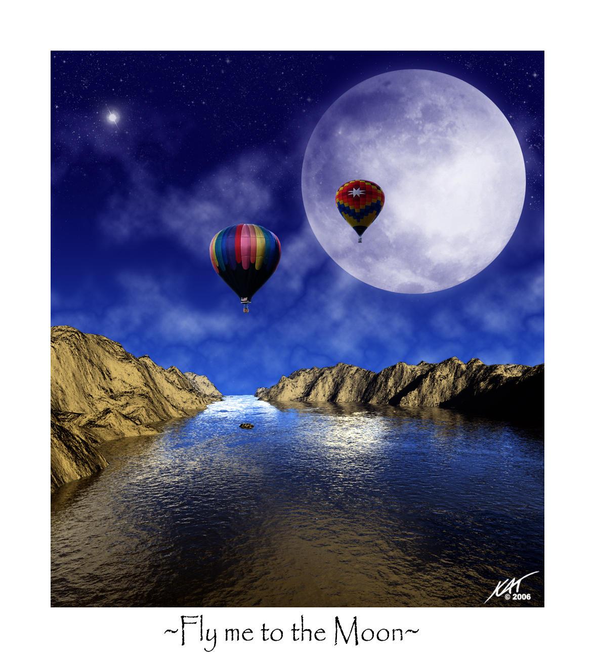 Fly me to the Moon... by Tenshadesofgrey
