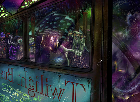 Twilight Bus (night)