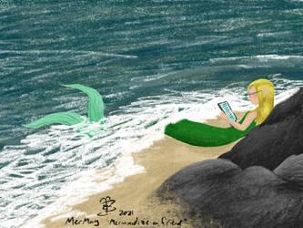 MerMay prompt #8 Mermaidize a Friend