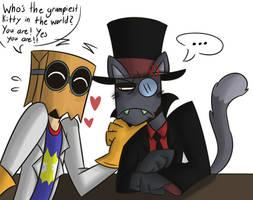 The  r e a l  grumpy cat by ColorSoul-Drawz