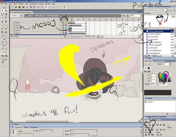 Desktop screen 4 by Penb0y