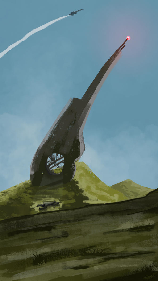 Shipwreck - Procreate on iPad by Penb0y