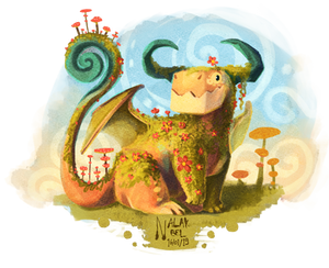 Little Square Dragon