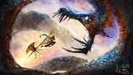 Redraw   Sky Slayer by Nalak-Bel