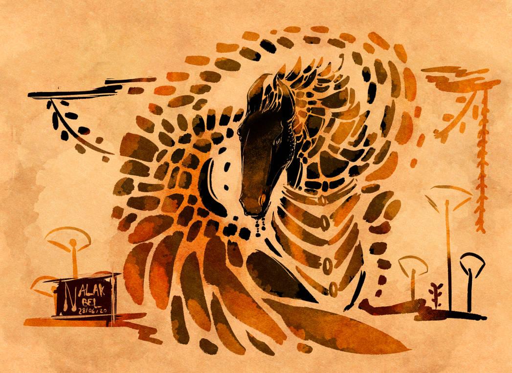 Ink | Djinzaal by Nalak-Bel