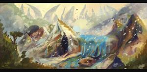 LC   Montagnes Alkoryunes