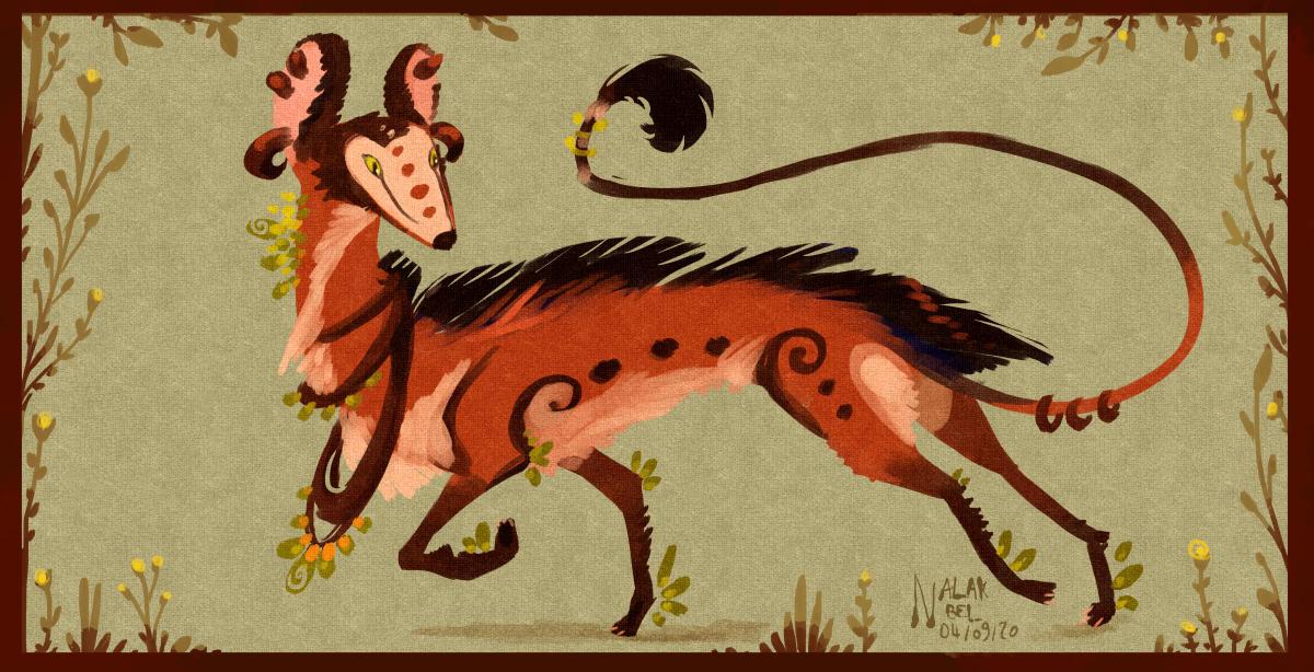 Design | The Foxy Long Boi by Nalak-Bel