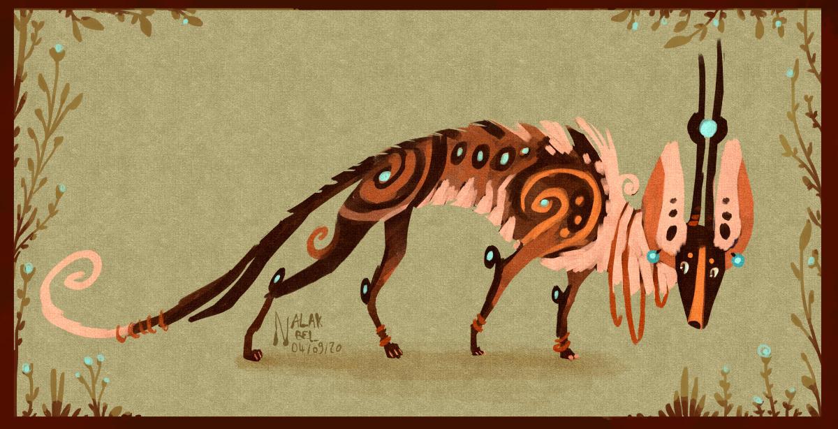 Design | The Fluffy Arcanomancer by Nalak-Bel