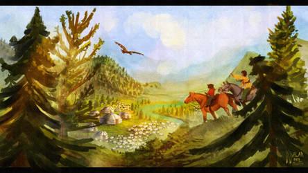 Mongolian Steppe (2019)