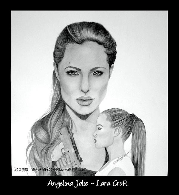Angelina Jolie - Lara Croft by tanabatablossom