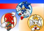 Team Sonic Wallpaper