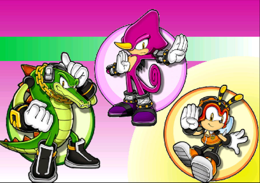 Team Chaotix Wallpaper by Firesonic152 on DeviantArt