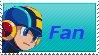 MegaMan Fan Stamp by Firesonic152