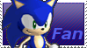 Sonic Fan Stamp by Firesonic152