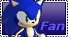 Sonic Fan Stamp by Firesonic152