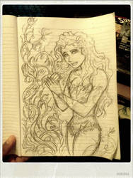 Poison Ivy Doodle by Inuranma44