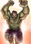 Hulk paint