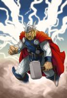 Thor by KJVallentin
