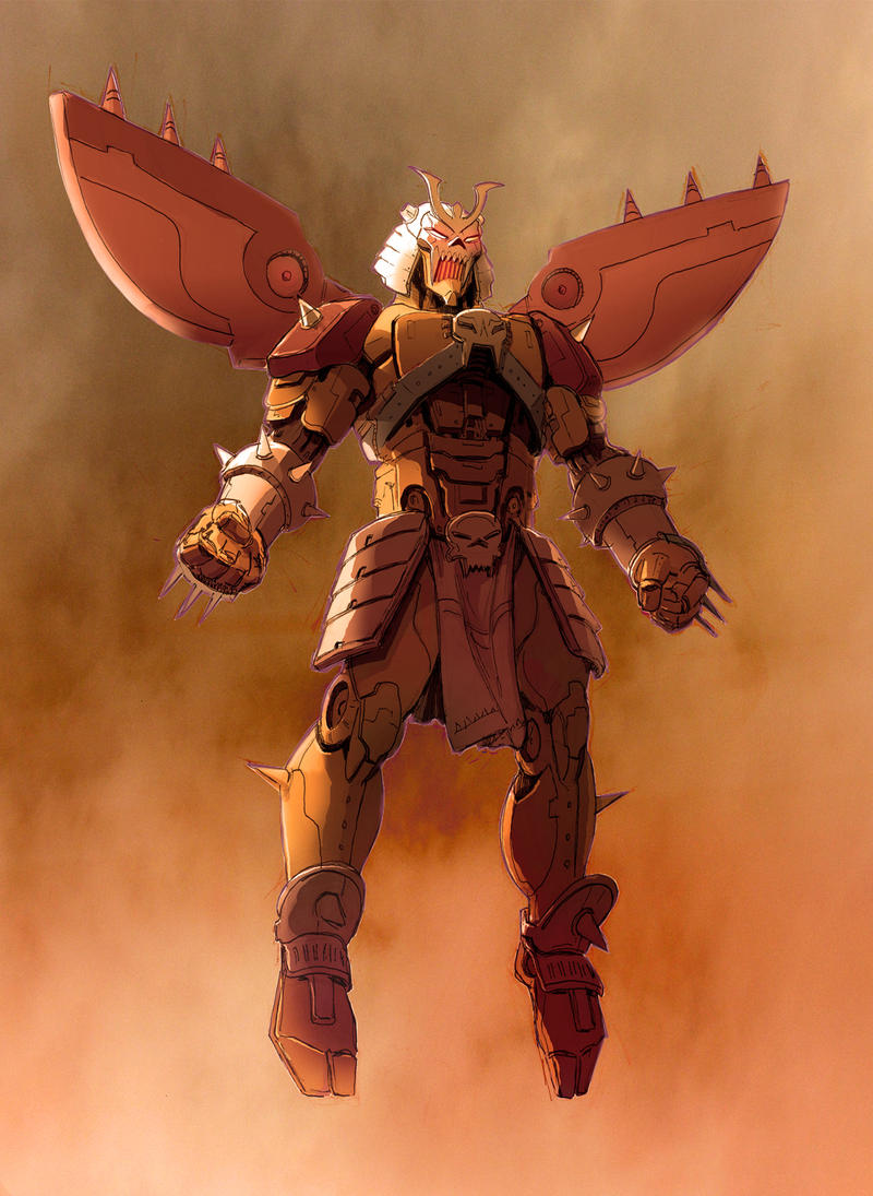 Shao Kahn Mech by KJVallentin on DeviantArt