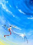 Icarus by RainbowCrowCat