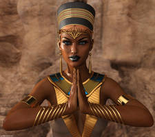 Egyptian queen by phdemons