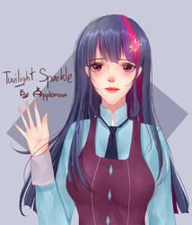 FA Twilight Sparkle - MLP by AppleMoon24