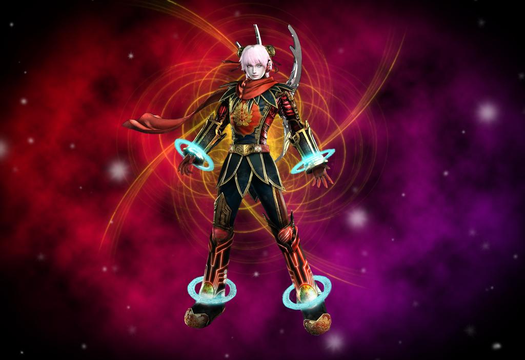 Warriors Orochi 3 ~ Nezha 2 by HannibolLove