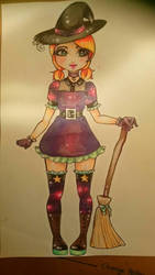 a little witch by TiorFior