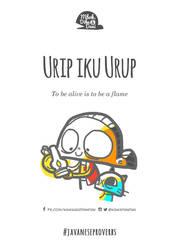 Urip iku Urup